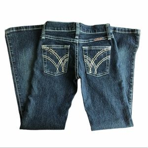 Wrangler Cowgirl cut Jeans. Q-BABY. Western
